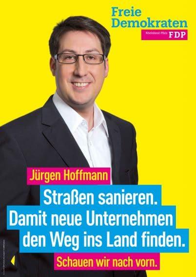 Wahlplakat Jürgen Hoffmann
